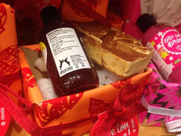 Exemple de paquet-cadeau écologique avec «maïs soufflé»!
