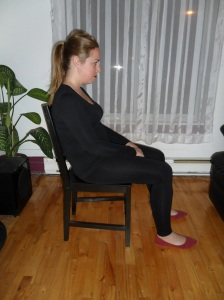 Position «paresseuse» ;-)